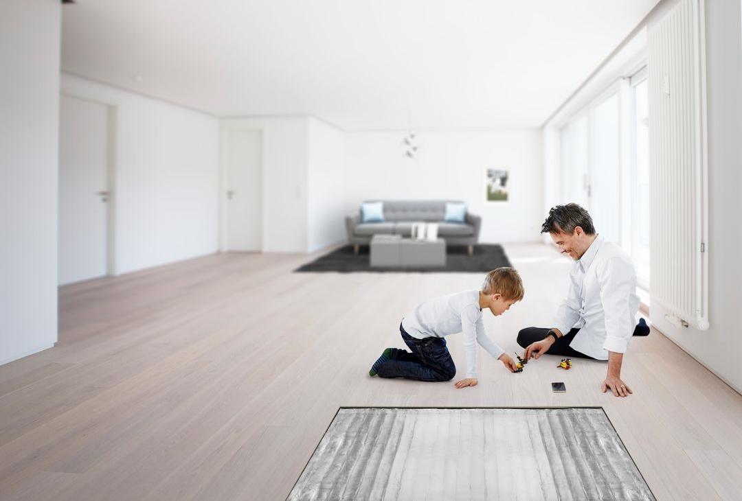 Unikátní podlahové vytápění do malých prostor. Bez kompromisů.