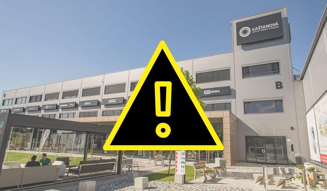 Informace o provozu Centra bydlení a designu Kaštanová a koronaviru