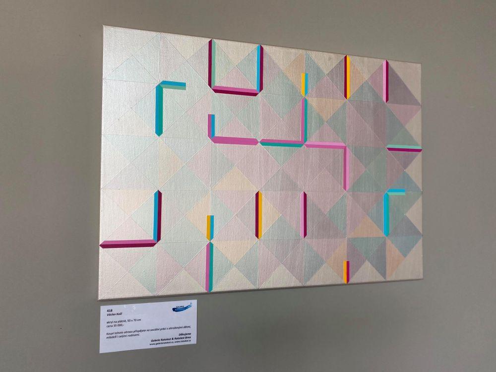 Dobročinná vernisáž na Kaštanové - Galerie Ratolest slide 7