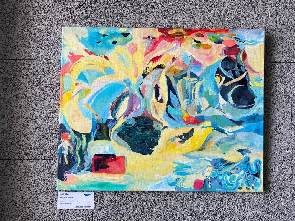 Dobročinná vernisáž na Kaštanové - Galerie Ratolest slide 9