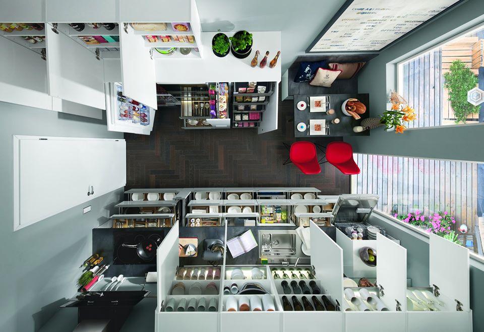 3 tipy pro řešení malé moderní kuchyně slide 3