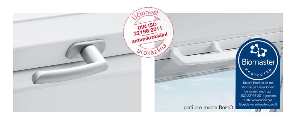 Antimikrobiální klika Just Clean pro střešní okna slide 1