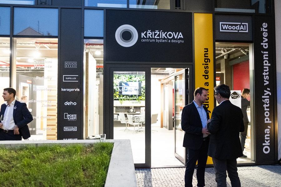 Centrum Křižíkova slavnostně otevřeno! slide 1