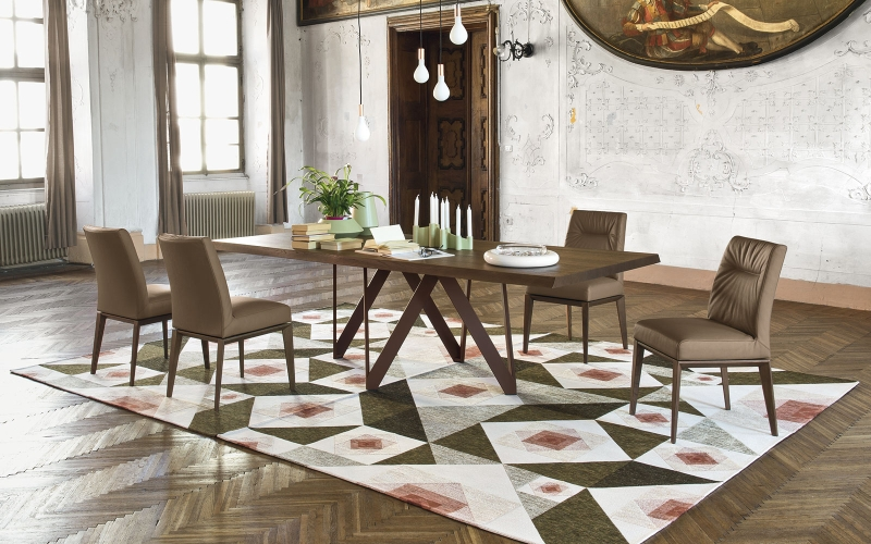 Čistý italský rukopis tradičního výrobce židlí a stolů slide 5