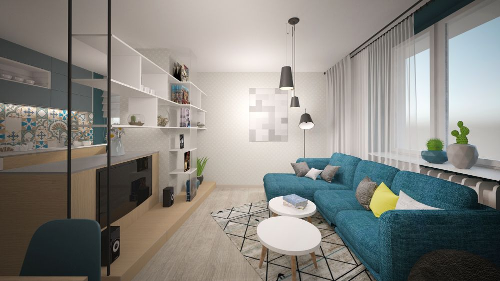 Desatero pravidel při zařizování malého bytu slide 7