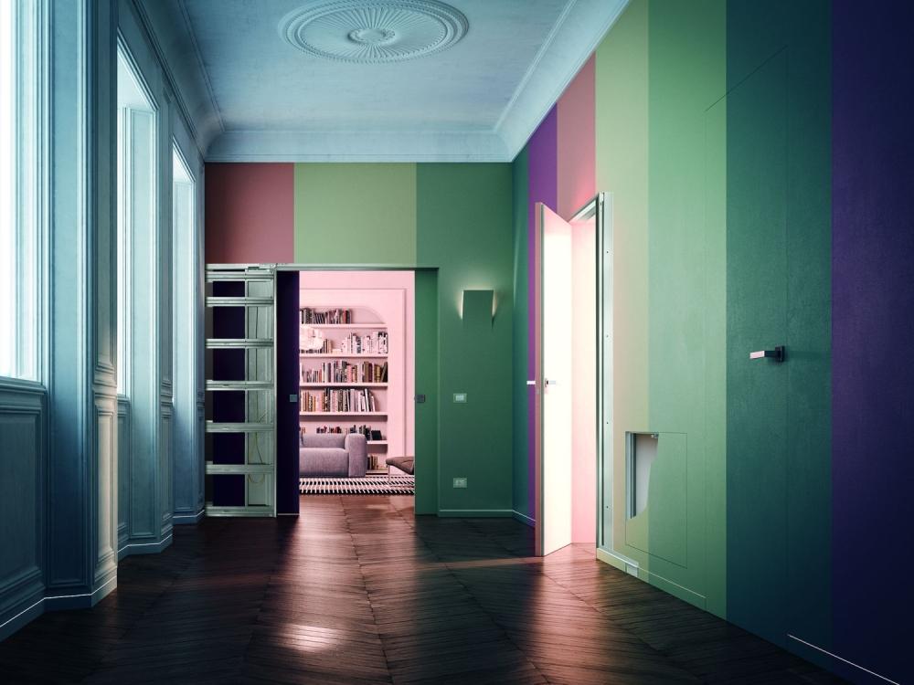Eclisse přináší pouzdra posuvných dveří na Kaštanovou slide 0
