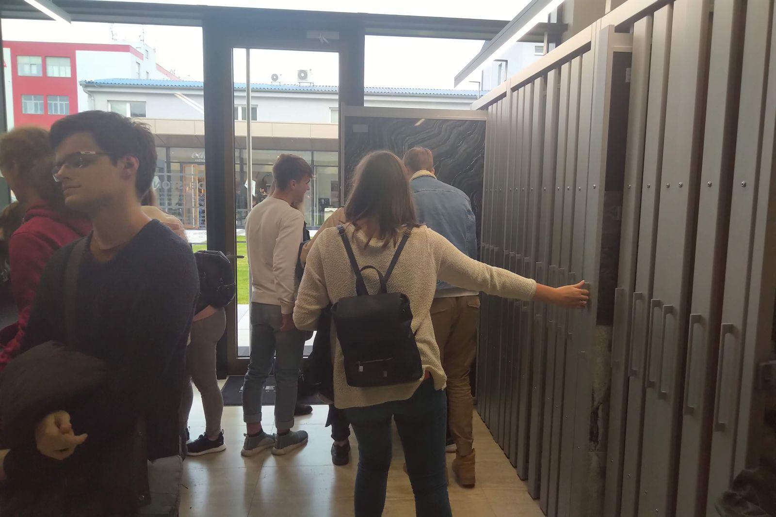 Exkurze studentů SPŠ stavební na Kaštanové slide 20