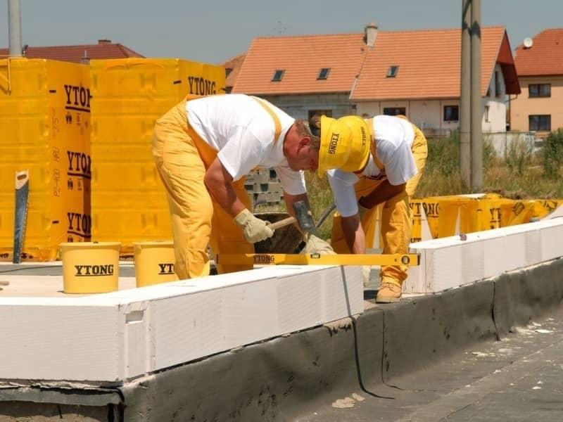Centrum hrubé výstavby představuje fragment domu z tvárnic YTONG slide 4