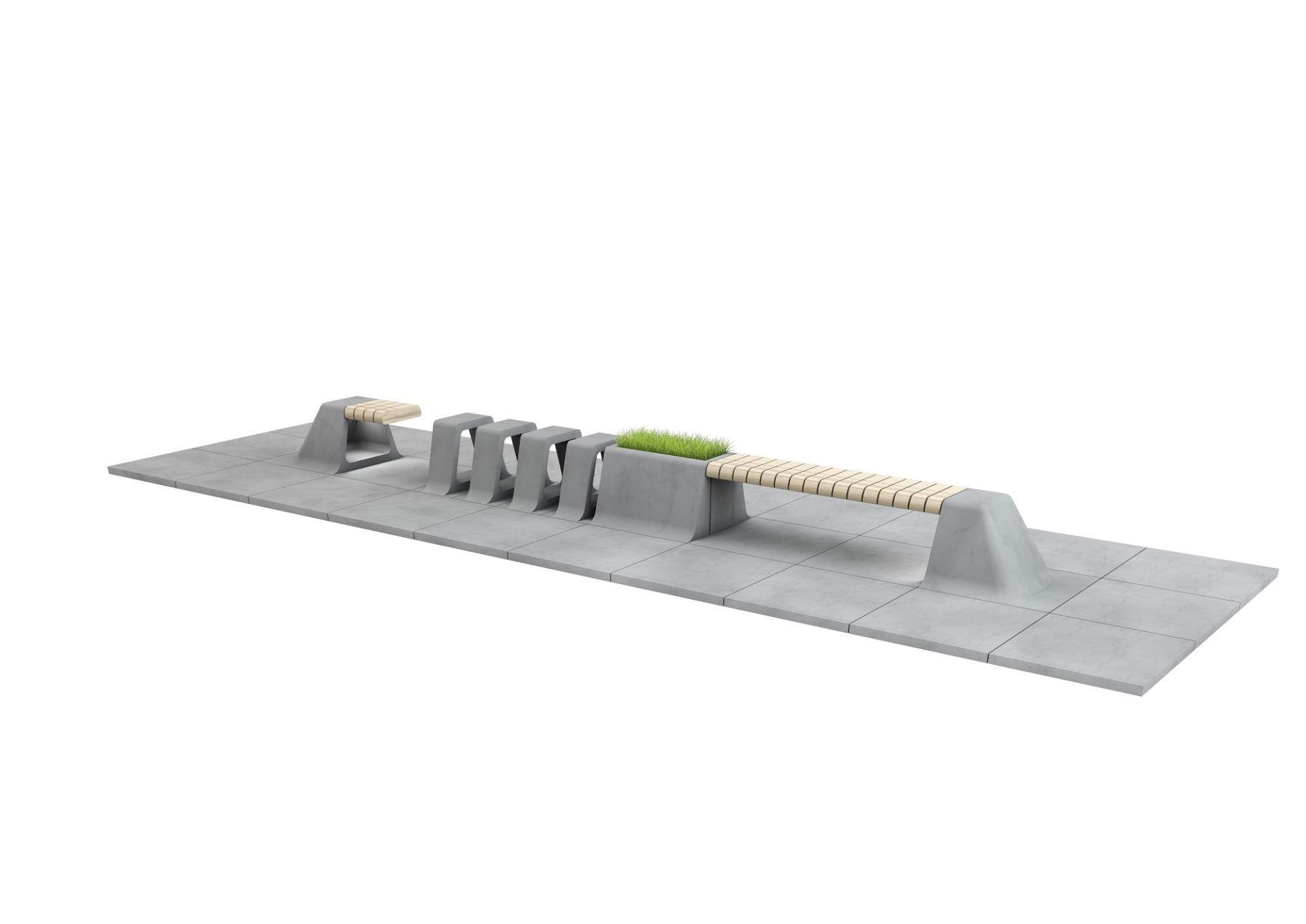 Městský mobiliář a dlažba slide 5