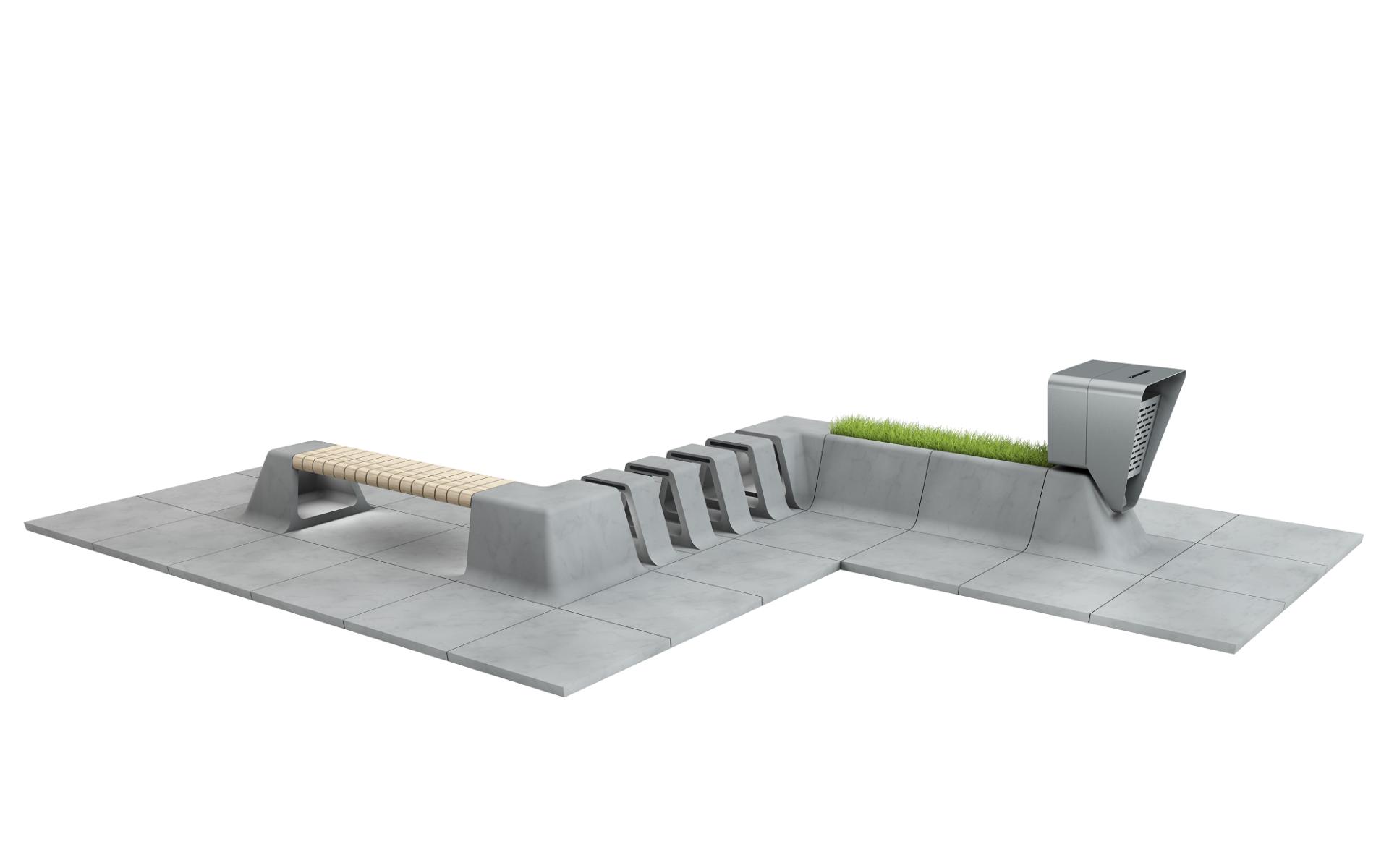 Městský mobiliář a dlažba slide 6