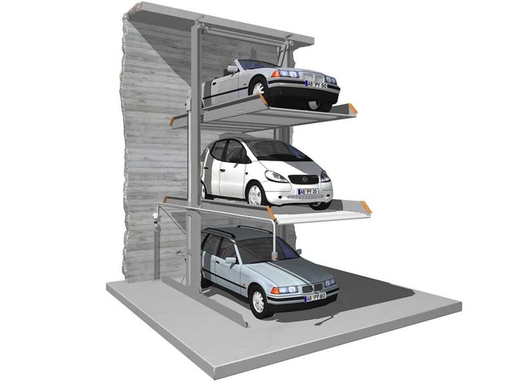 Kam s těmi všemi auty?! Klaus Multiparking má pro vás návrh. slide 4