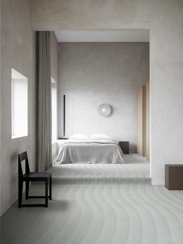 Kouzelné tkaniny. Nadčasové textilie. Ekologicky šetrné koberce. V showroomu Optimal Interier Design.  slide 1