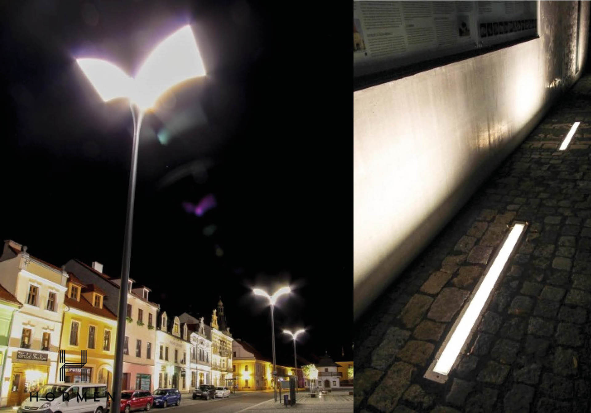 Osvětlení do venkovních prostor slide 1