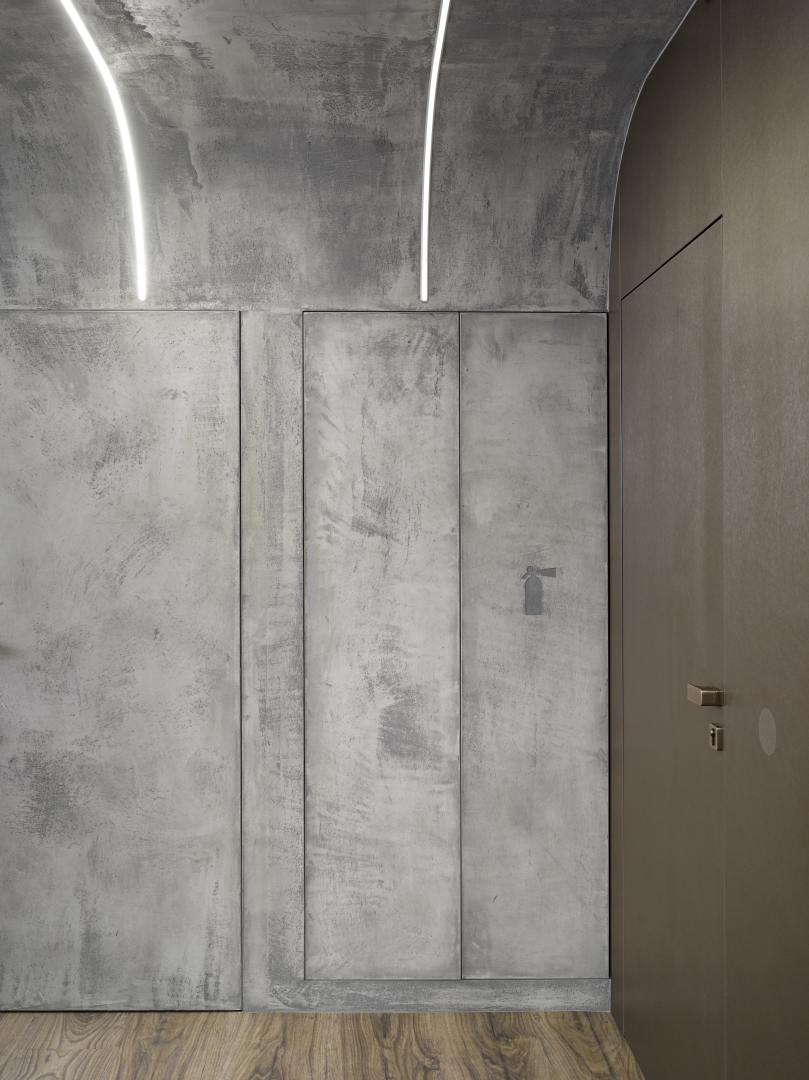 Perfektní symbióza organických tvarů a betonu slide 11