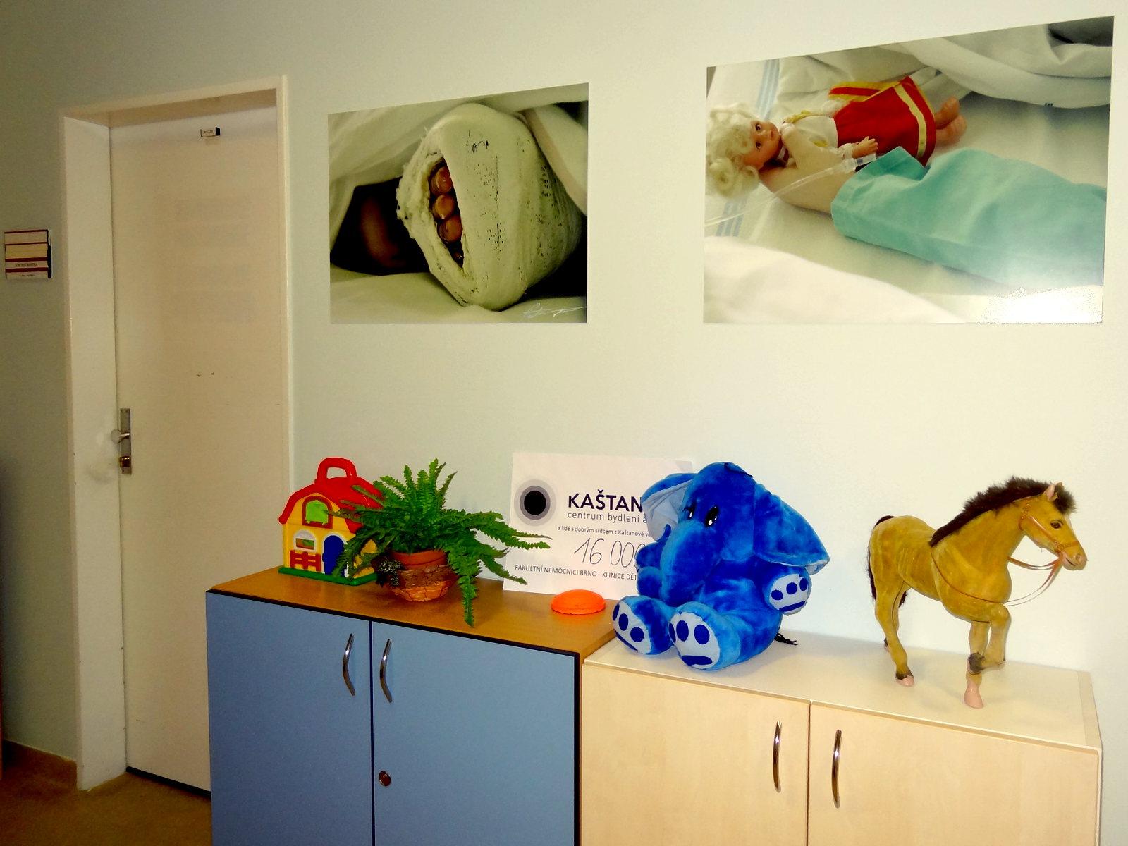 Vánoční sbírka pro nemocné děti slide 1