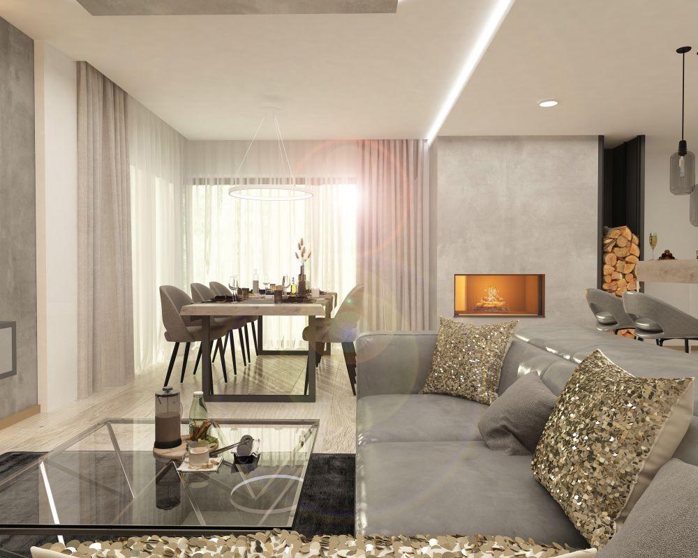 Moderní bydlení v rodinných domech v Hodějicích slide 8