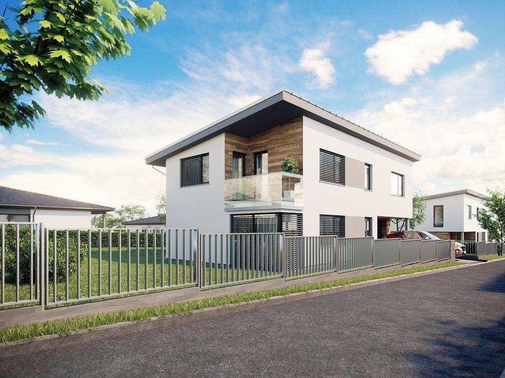 Moderní bydlení v rodinných domech v Hodějicích slide 2