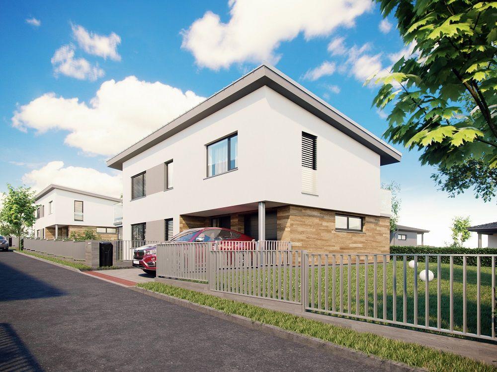 Moderní bydlení v rodinných domech v Hodějicích slide 3
