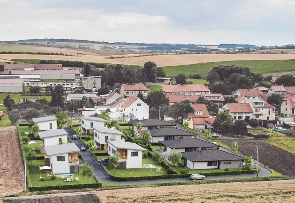 Moderní bydlení v rodinných domech v Hodějicích slide 6