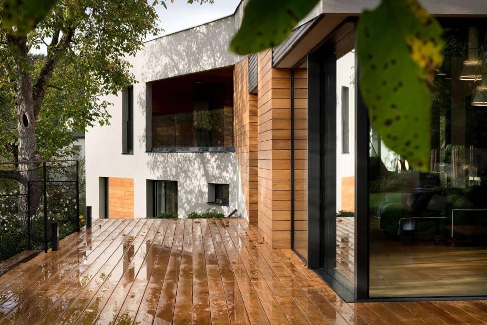 Nestandardní rodinný patrový dům nabízí chytré dispozice slide 7