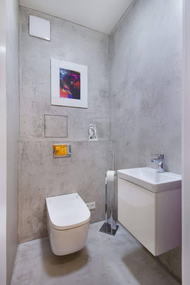 Designová stěrka Betonepox® v rezidenci Waltrovka slide 5
