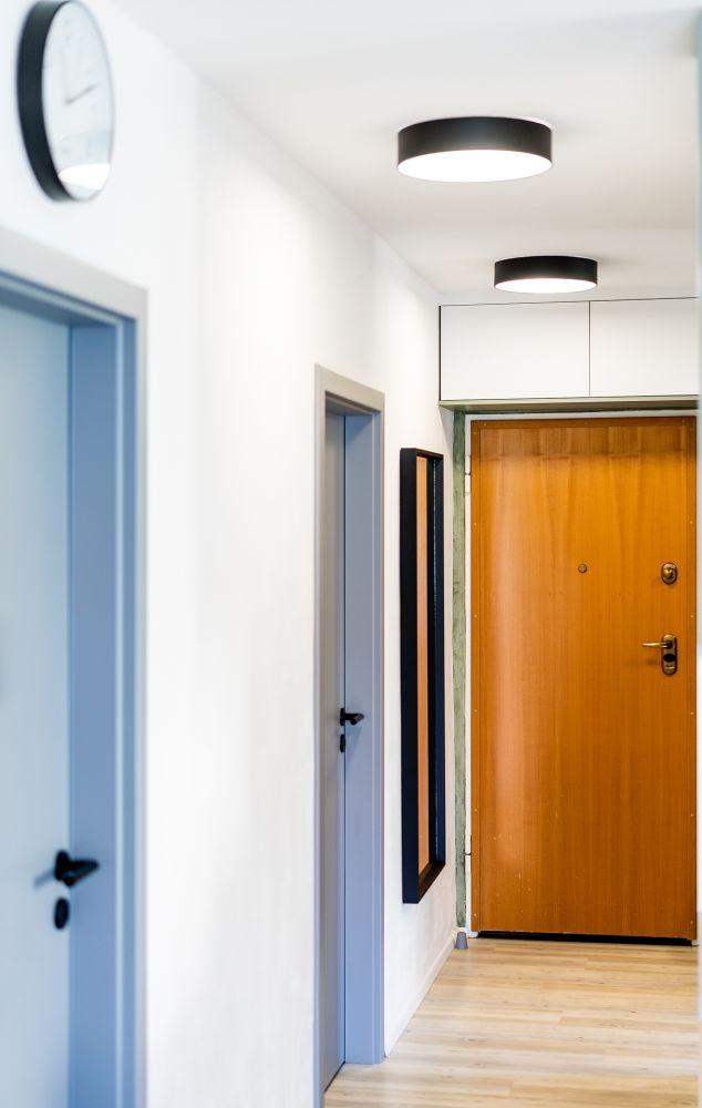 Rekonstrukce malého bytu do svěžích barev slide 13
