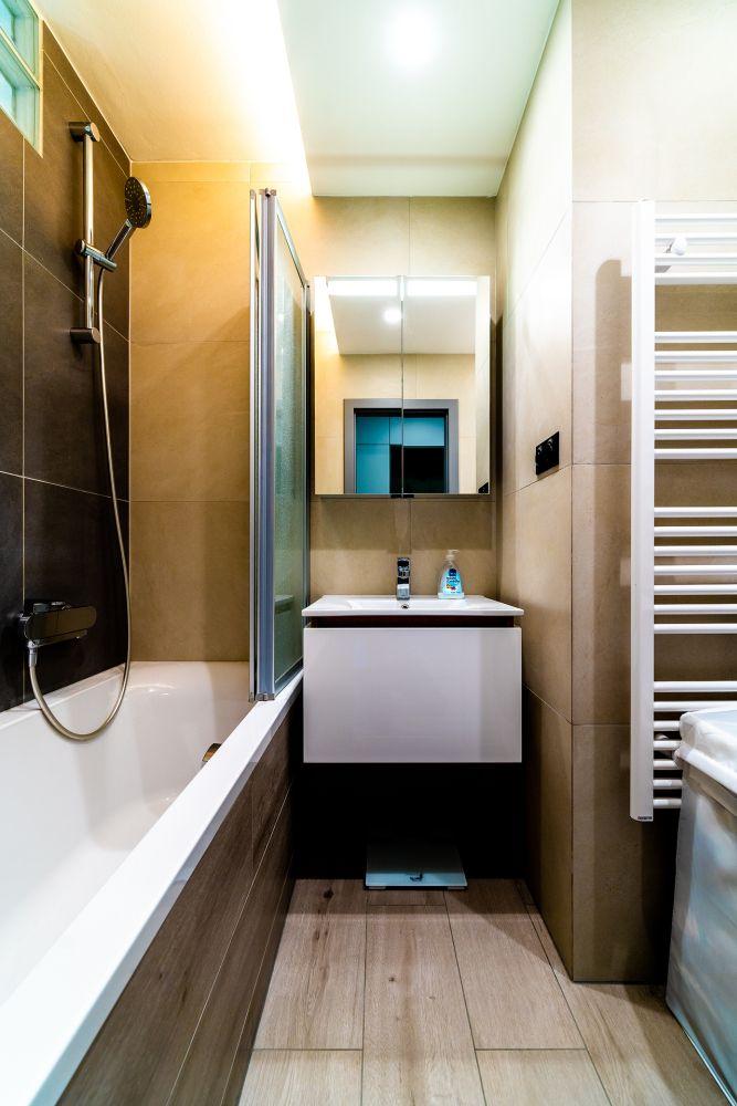 Rekonstrukce malého bytu do svěžích barev slide 21