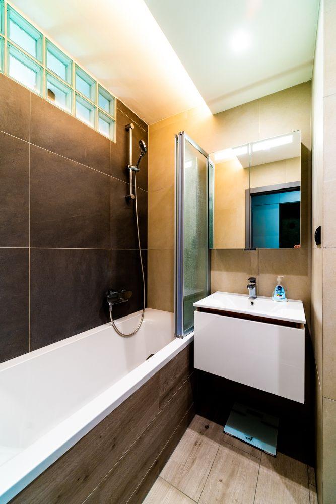 Rekonstrukce malého bytu do svěžích barev slide 18