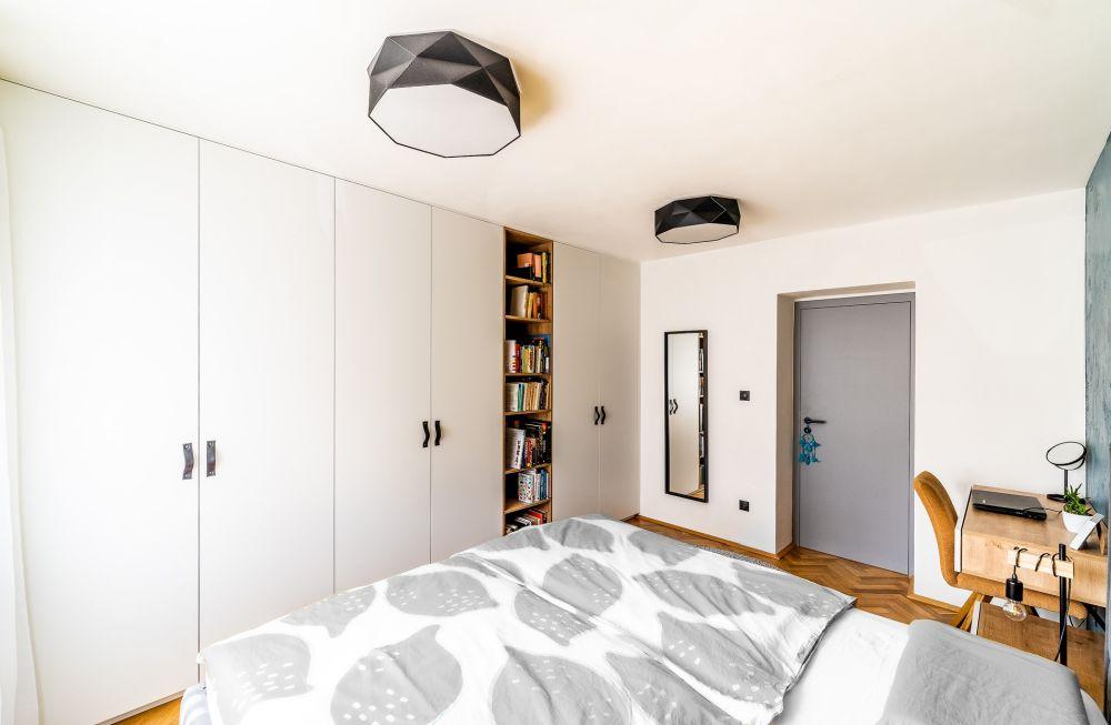 Rekonstrukce malého bytu do svěžích barev slide 15