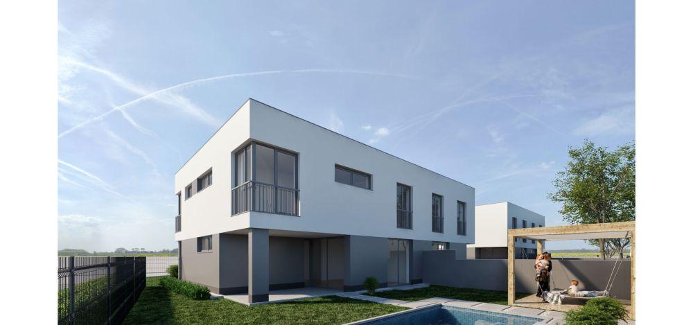 Moderní dvojdomky | Rodinné domy Hajany u Brna slide 3