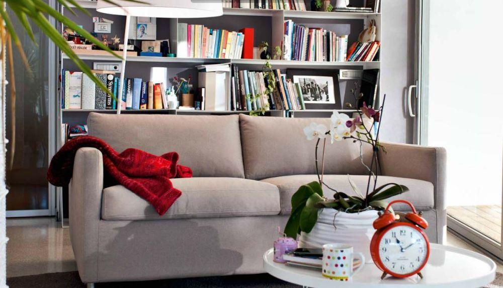 Rozkládací sedačka nafoukne malý byt - vyberte si na showroomu DEHO slide 7