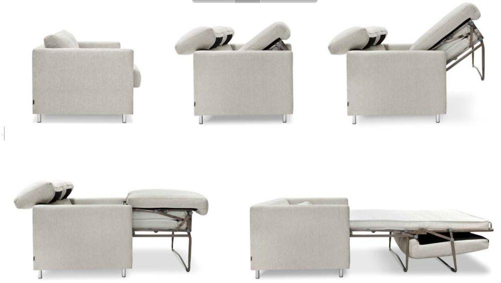 Rozkládací sedačka nafoukne malý byt - vyberte si na showroomu DEHO slide 8