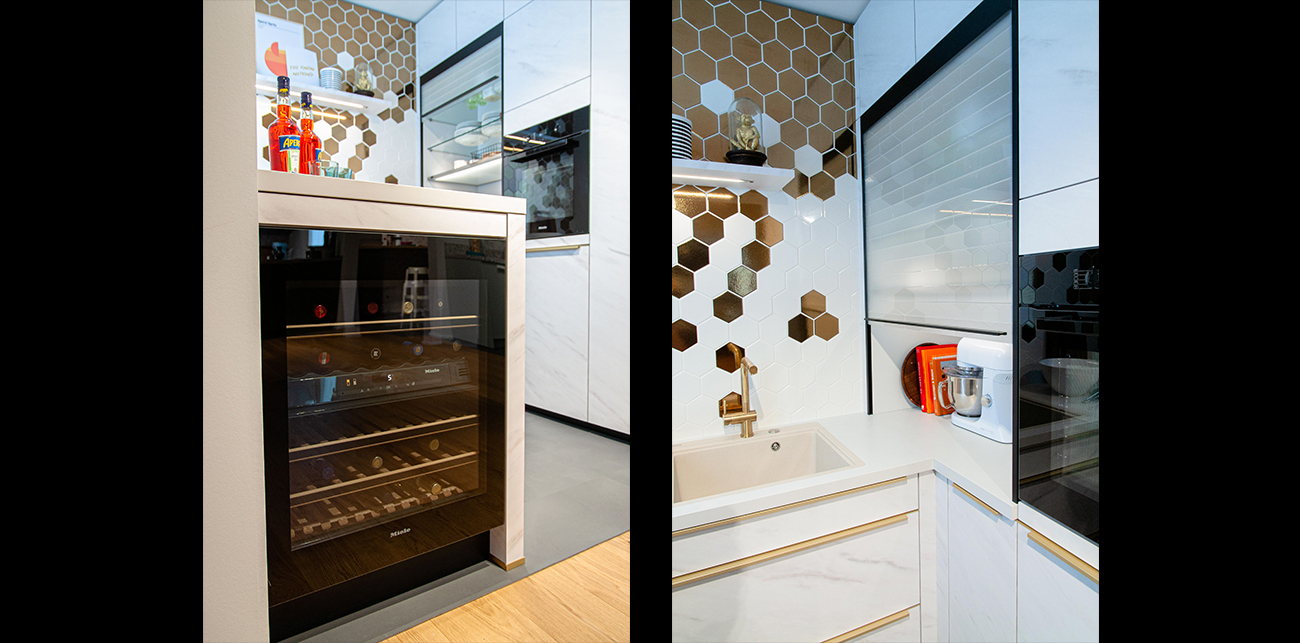 3 tipy pro řešení malé moderní kuchyně slide 15