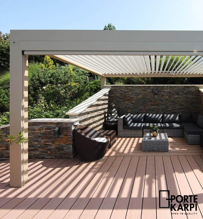 Uvelebte se na zahradě pod pergolou slide 3