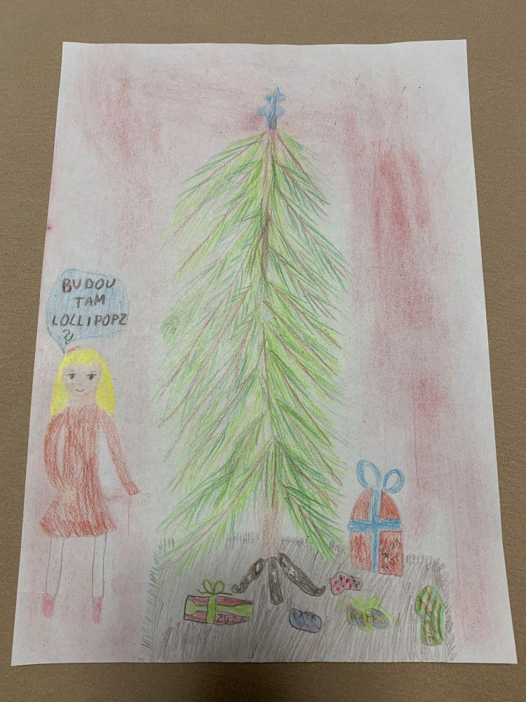 Vánoční sbírka pro děti v Centru Kaštanová 2020 slide 0