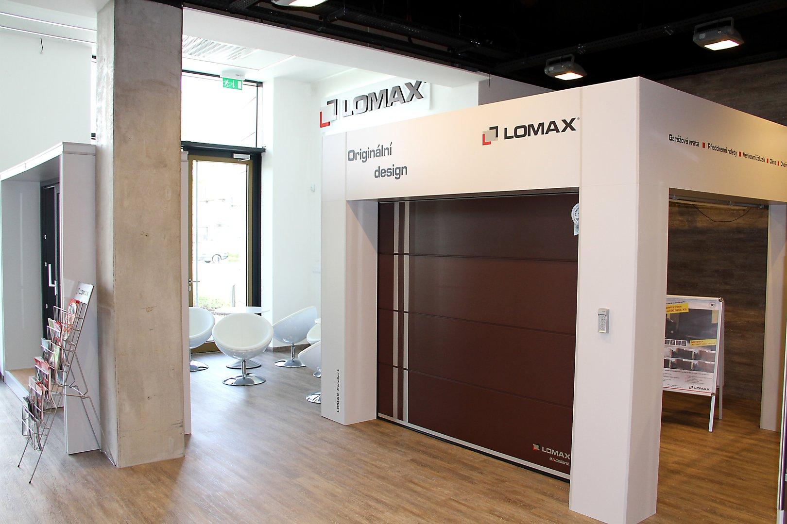 Vchodové hliníkové dveře LOMAX Aktiv 77 slide 3