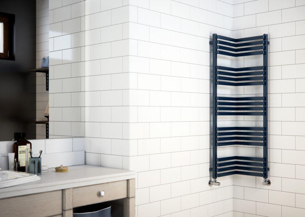 Radiátor Terma  v malé koupelně