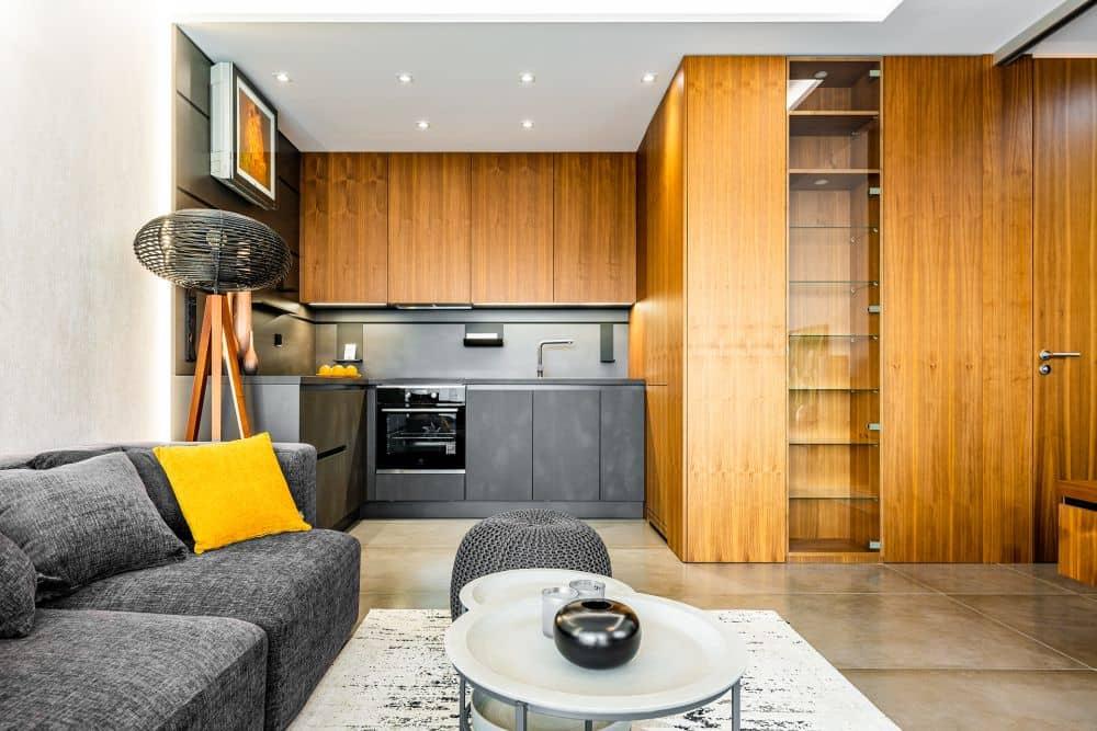 realizace luxusního bytu centrum kaštanová