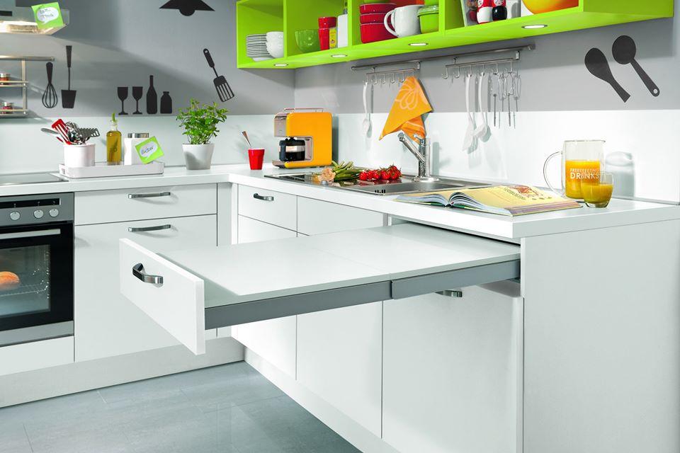 Rozšíření pracovního prostoru v kuchyni