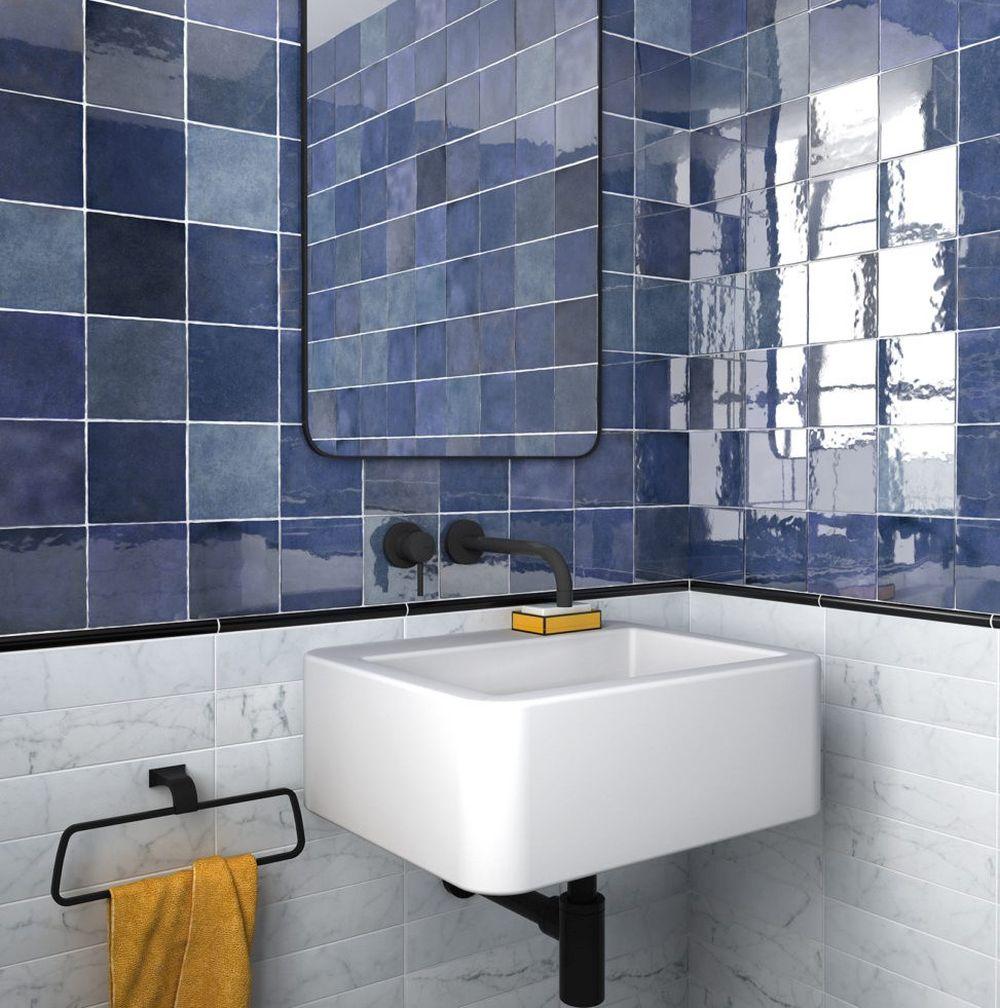 Barvy v malé koupelně