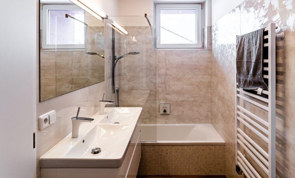 Realizace malé koupelny Keraservis