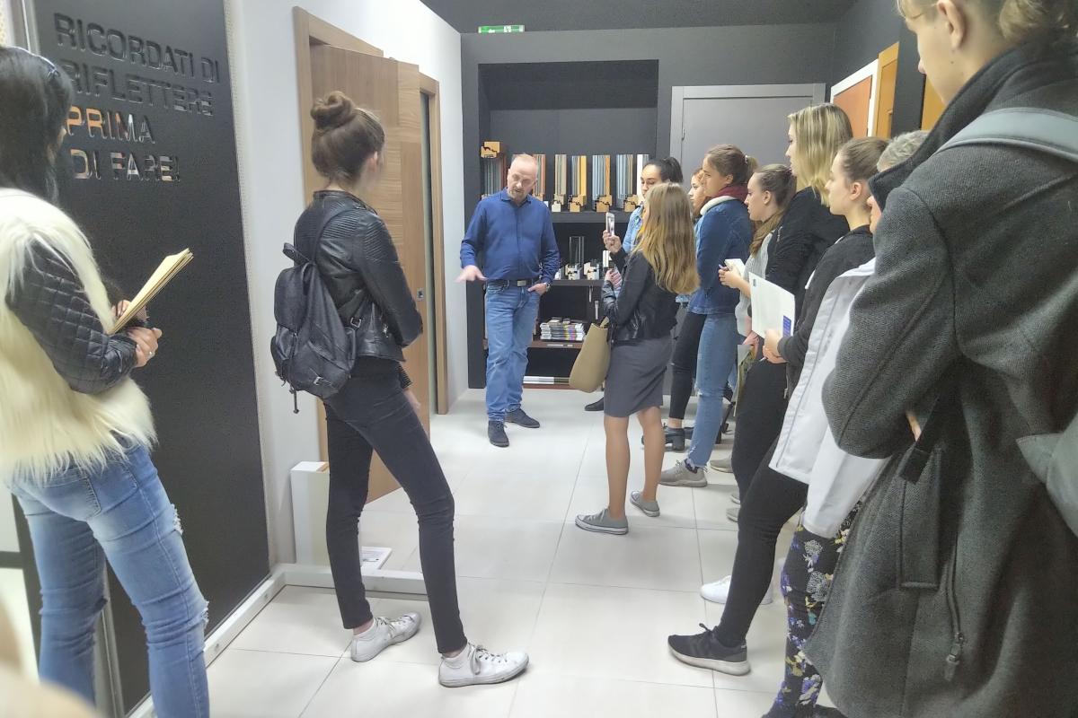 Exkurze studentů