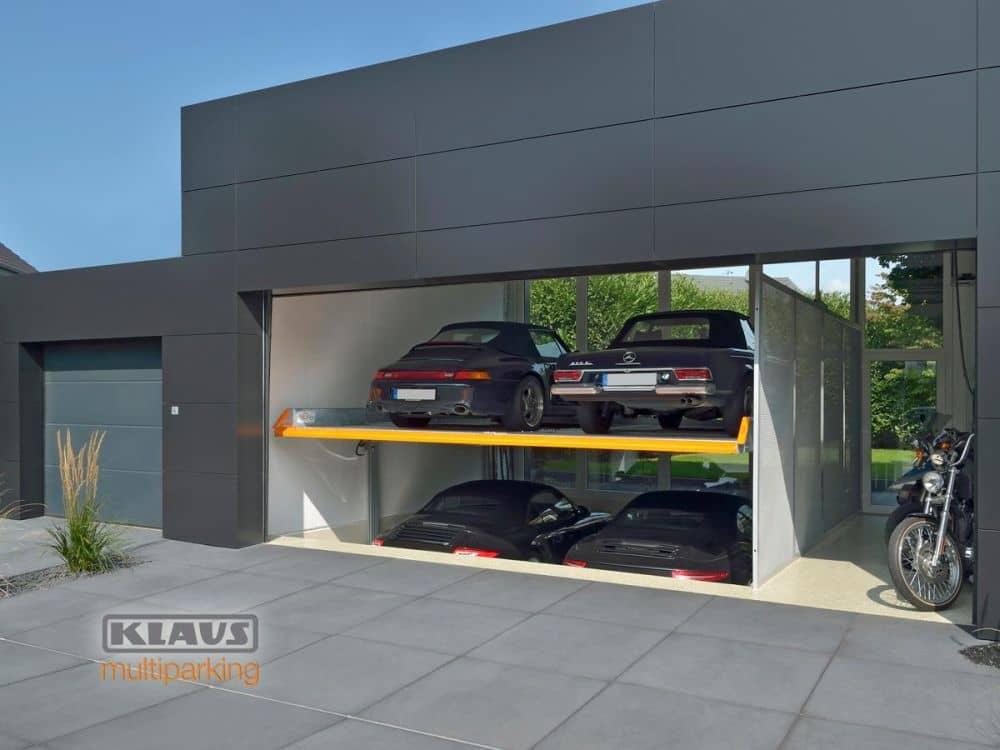 Klaus multiparking auto parkování garáž