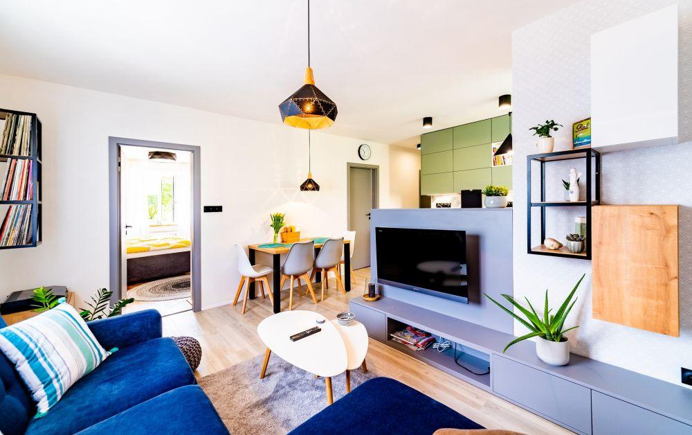 Rekonstrukce malého bytu ARCHAMI