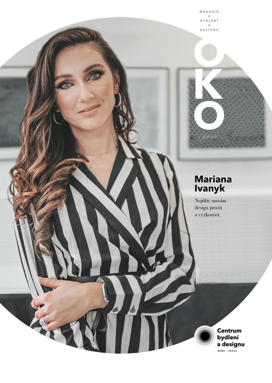Titulní stránka magazínu OKO 2020 - Mariana Ivanyk